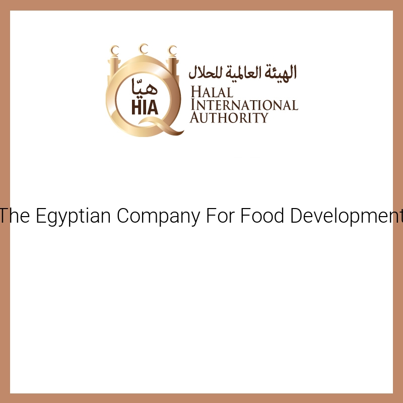 The Egyptian Company For Food Development