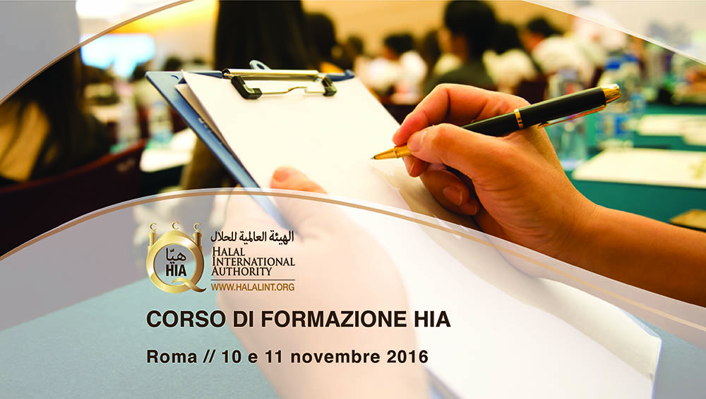 La formazione di Halal International Authority:  Corso intensivo a Roma